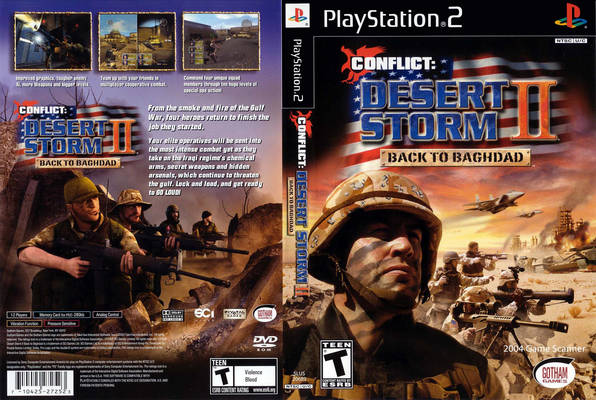Conflict Desert Storm II Back To Baghdad USA ISO