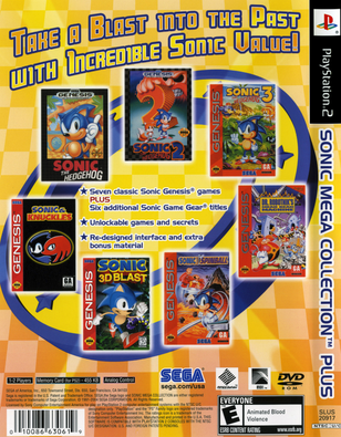 Sonic Mega Collection Plus (USA) ISO