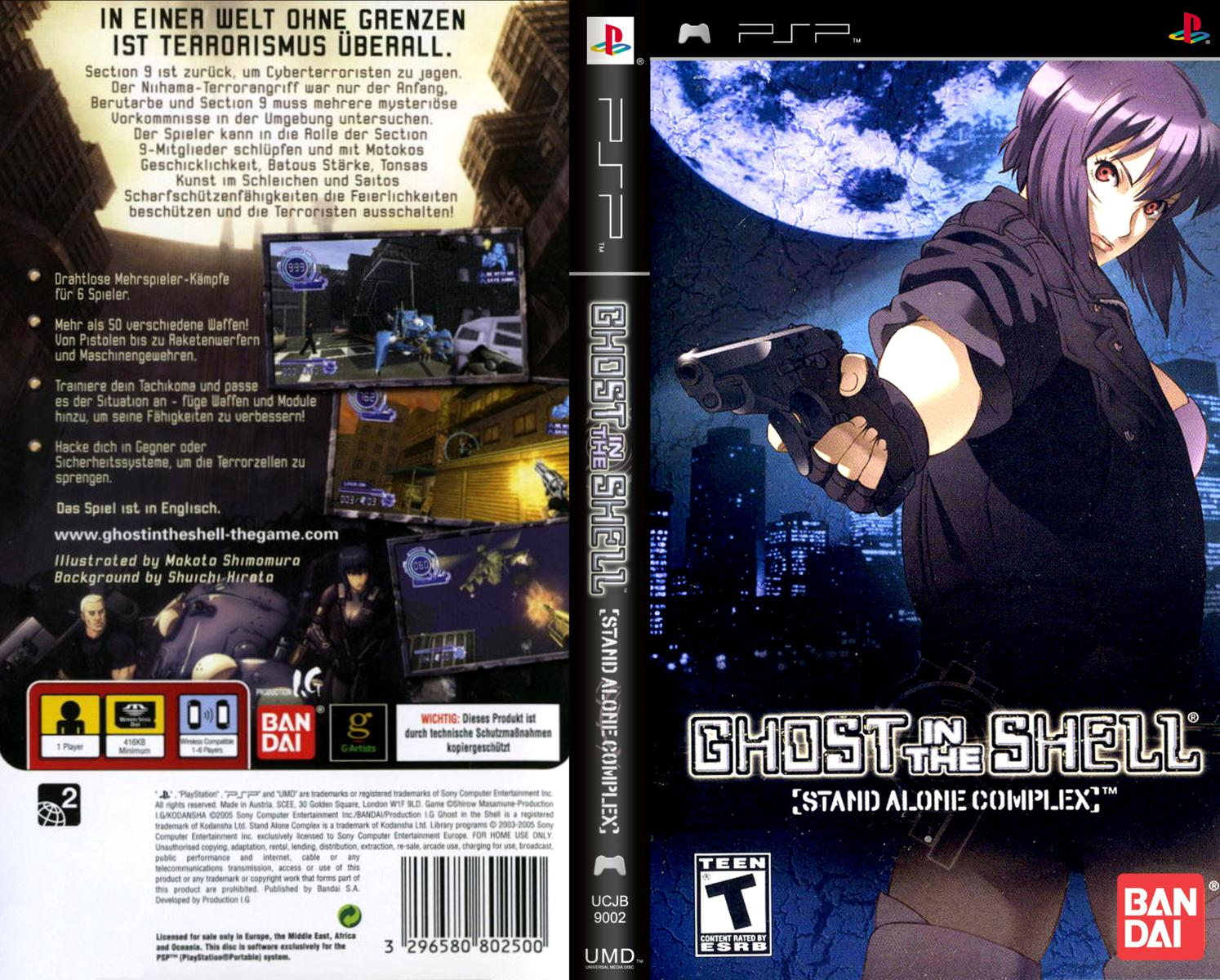 Ghost in the Shell  Stand Alone Complex USA ISO Download