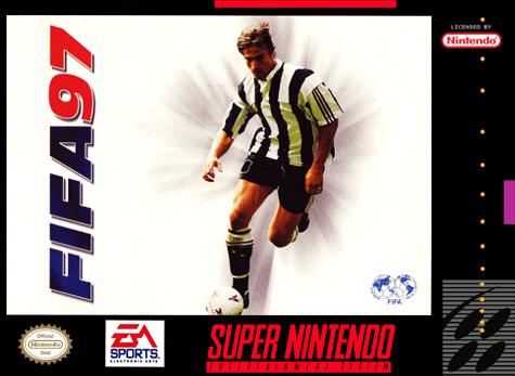 Fifa 97 cover super nintendo