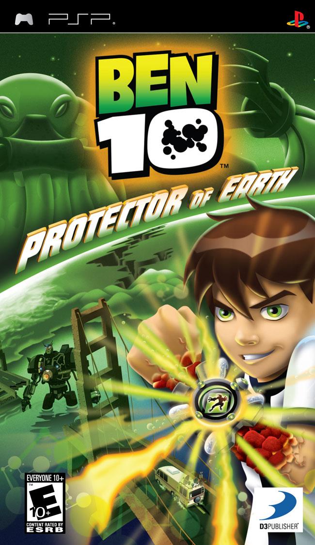 Ben 10 - Protector of Earth (USA) ISO