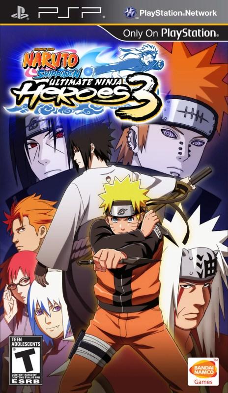 158476 Naruto Shippuden   Ultimate Ninja Heroes 3 (USA) 1500467275 - Naruto Shippuden Ultimate Ninja Heroes 3 For PSP