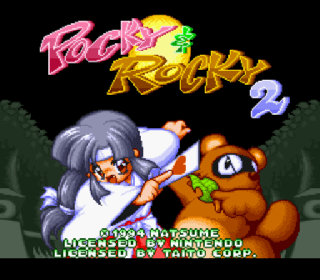 Pocky & Rocky 2 (USA) (Beta) ROM