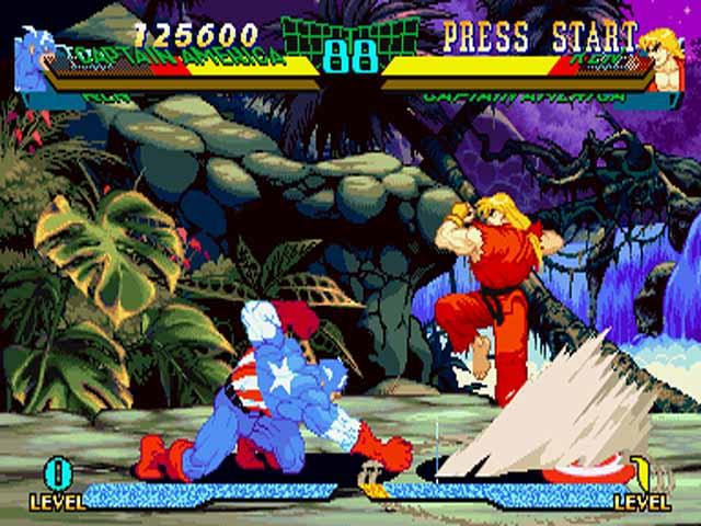 Marvel Super Heroes VS Street Fighter ISO < PSX ISOs | Emuparadise