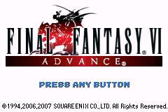 Final Fantasy VI Advance EEternity ROM