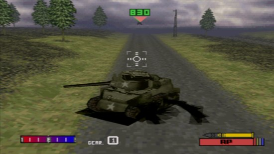Panzer Front PS1 ROM #22