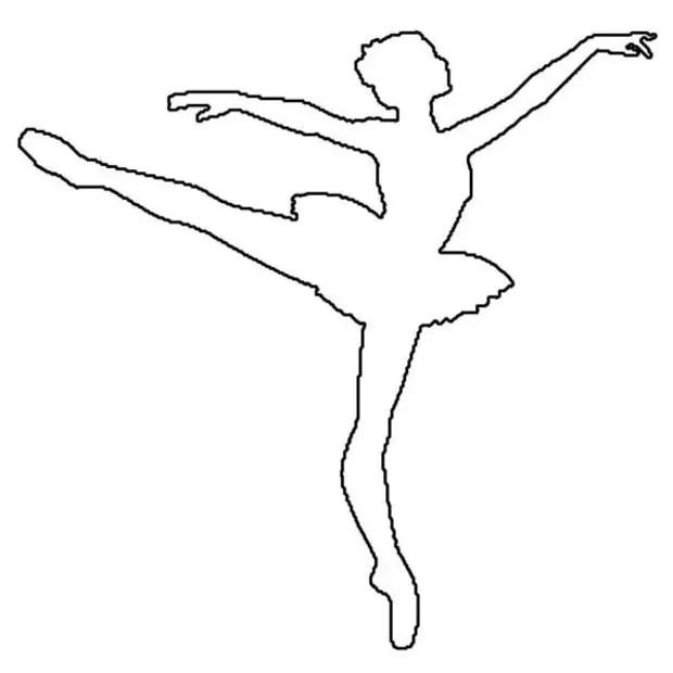 Балеринаны қағаздан өз қолыңызбен қалай жасауға болады. Балеринаны қағаздан шаблон бойынша кесу