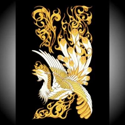 【楽天市場】アオトクリエイティブ 高蒔絵シール K095鳳凰大、金   価格比較 - 商品価格ナビ