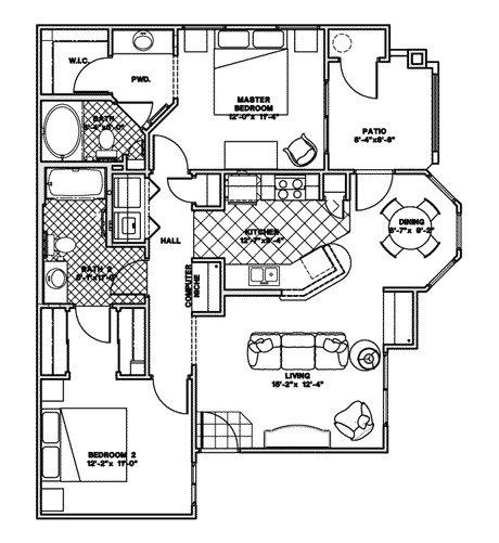 Courtney Vista at Zanjero, Glendale. Apartment for rent.
