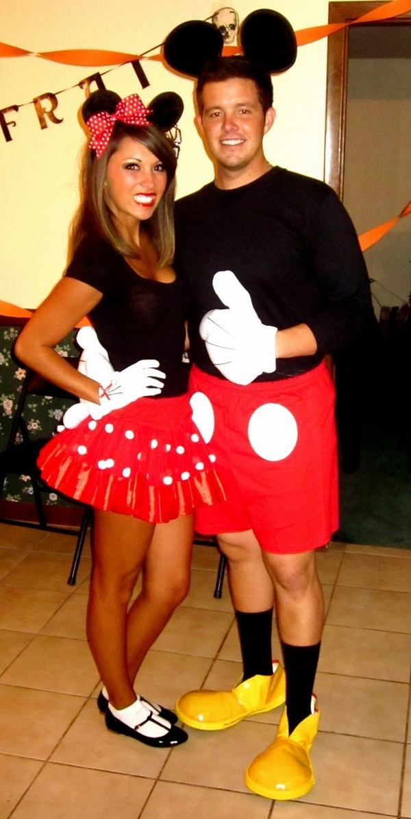 Paare Mickey Minnie Mouse