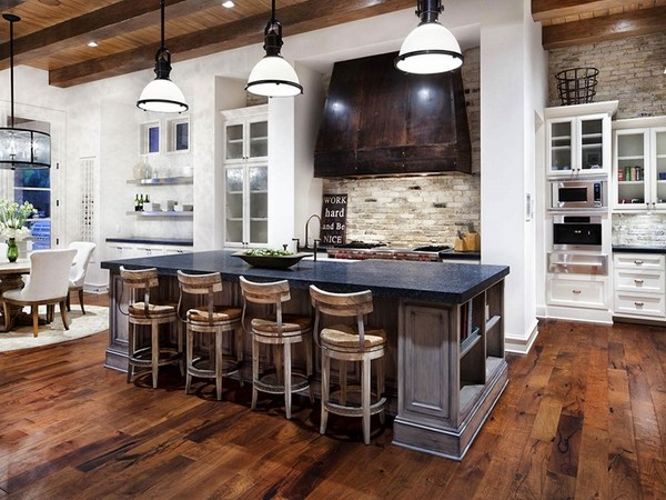 how-to-whitewash-brick-rustic-kitchen-design-rustic-kitchen-decor
