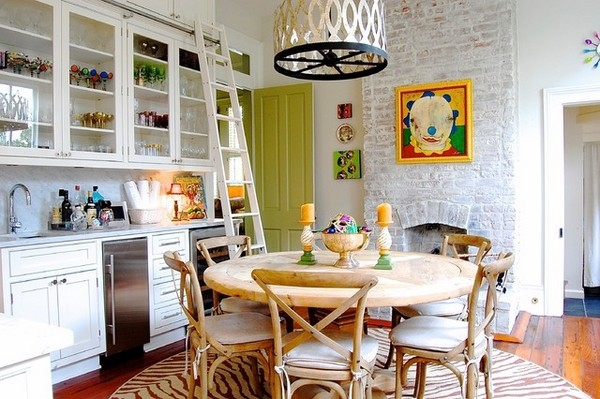 how-to-whitewash-brick-wall-wall-kitchen-design-ideas-rolling-leiter