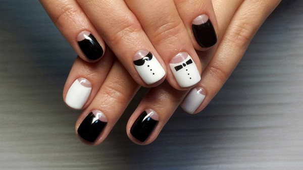 cooler Nailart Moon Nails Smoking