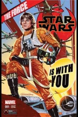 Star Wars 1 Greg Horn Variant