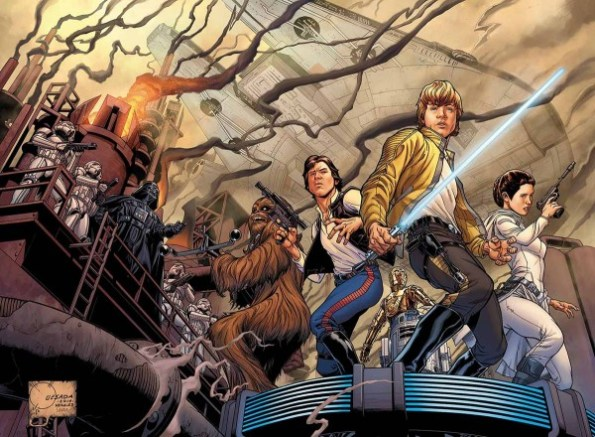 Star Wars 1 Joe Quesada Variant