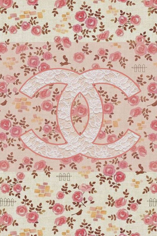 Iphone 6 Orange Flower Wallpaper Coco Chanel Flowers Pattern Logo Iphone 4s Wallpapers Free