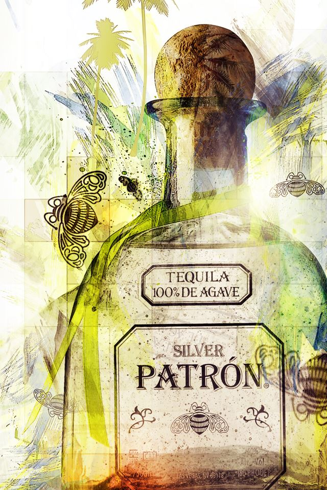 Iphone 8 X Wallpaper Patron Bottle Iphone 4s Wallpapers Free Download