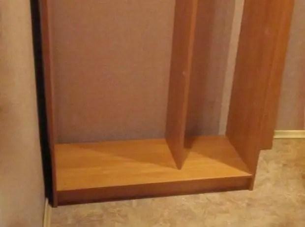 Сборка нижней части шкафа