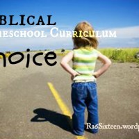 Homeschool Curriculum for the Lord's Church in Sight