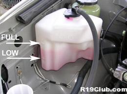 Mantenha os níveis de anticongelantes no motor altos
