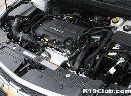 Motor turbo do Chevrolet Cruze 1.4L