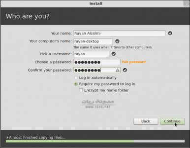 install linux mint 12
