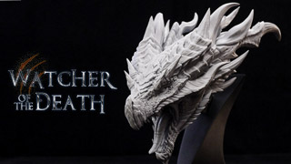 Watcher of the Death-Ilanga bust