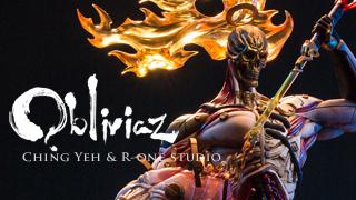 OBLIVIAZ-Blood Sun: Prometheus- painting version