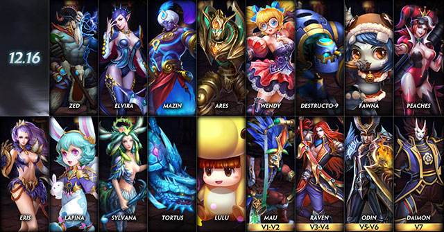 Heroes Evolved  Free competitive MOBA