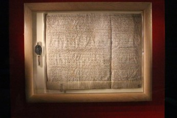 The Magna Carta (Photo by Katie Jones.)