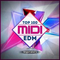 Top 100 EDM Midi Vol.1 & 2 WAV MIDI