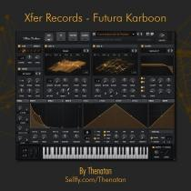 Thenatan Xfer Records Futura Karboon Serum Skin