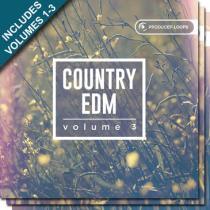 Producer Loops Country EDM Bundle (Vol. 1-3)