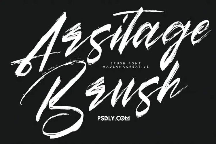Download Arsitage Brush Font !-r2r free download - r2rdownload