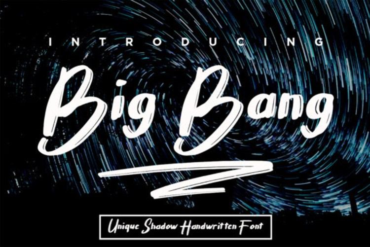 Download Big Bang Font-r2r free download free download r2rdownload