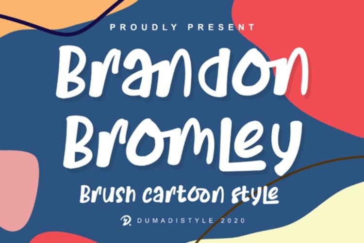 Download Brandon Bromley Font-r2r free download free download ...