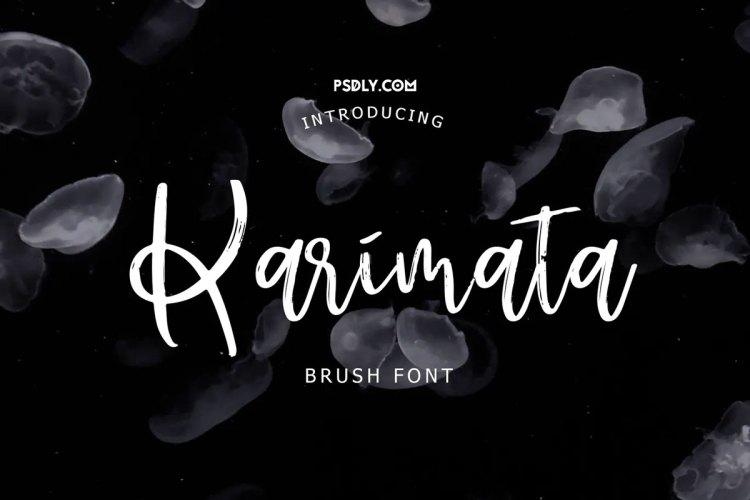 Download Karimata Brush Script Font ! - r2r free download - r2rdownload
