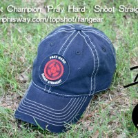 Pray Hard - Shoot Straight Cap Available Now!