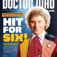 Colin Baker interview and cover of DWM #489