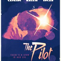 Stuart Manning poster for The Pilot