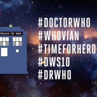 The TARDIS lands on Twitter thanks to #DWS10