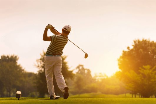 A Fort Worth man gets back to golfing after stem cell therapies