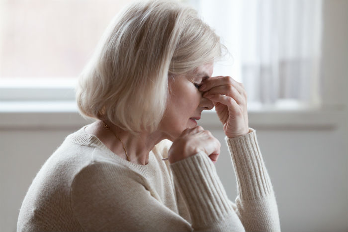 A Portlans women suffers from chronic headaches