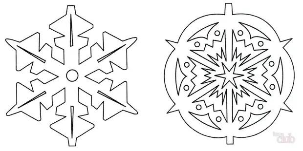 Өз қолымен қағаздың көлемді снегондары: қадамдық нұсқаулық
