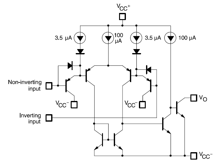 LM393 Low power dual voltage comparator