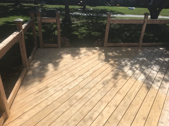 How To Remove Oil Stains From Wood Deck