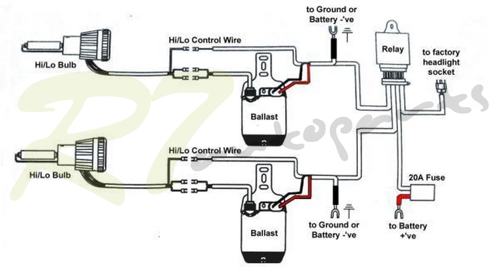 h4 halogen bulb wiring diagram harley diagrams simple hb2 headlight same as