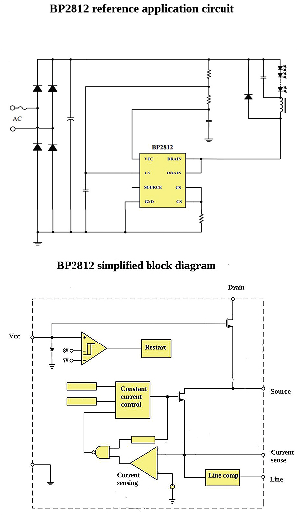 10v Dimmer Wiring Diagram Schematic What S Inside And Led Bulb Teardown Explanation