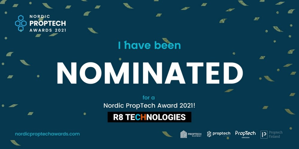 nordic proptech awards R8 Technologies