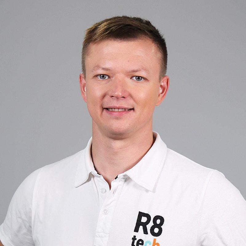Siim Täkker, CEO of R8 Technologies